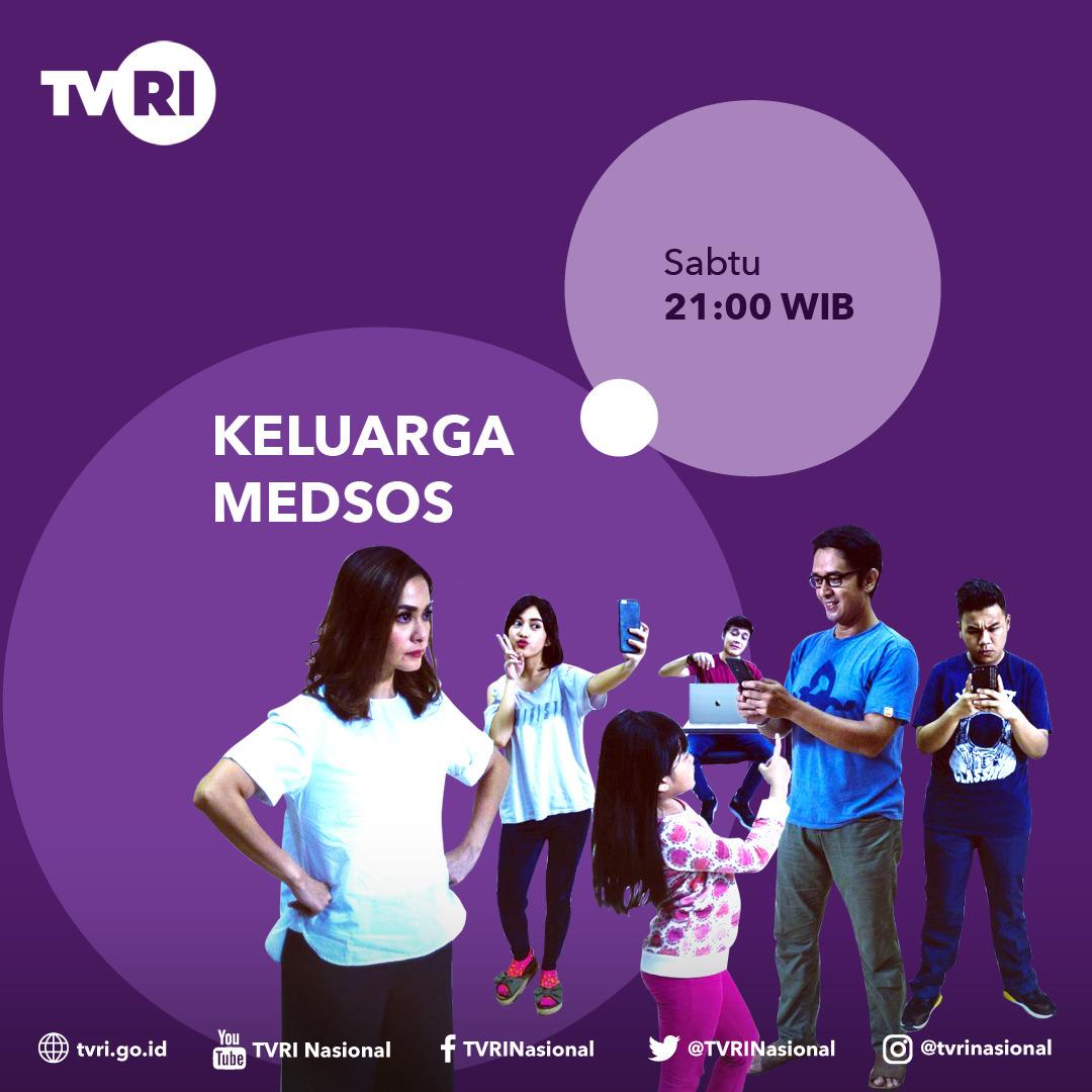 Sitkom Keluarga Medsos Tayang di TVRI