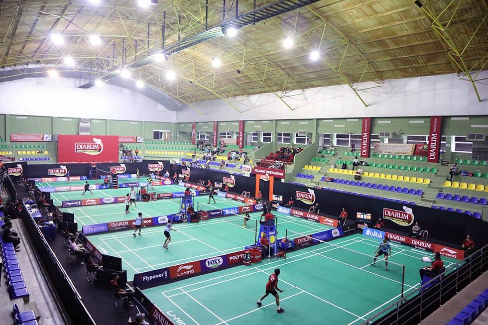 Siaran Djarum Sirkuit Nasional (Djarum Sirnas) Premier Li Ning Jawa Barat Open 2019 di TVRI